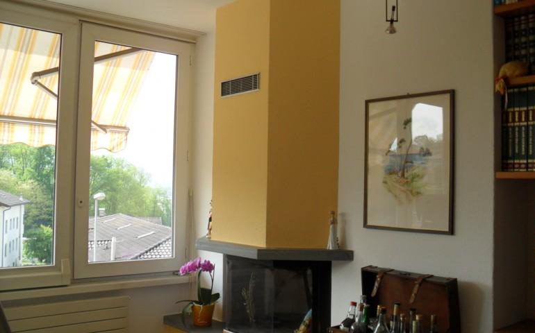 Esempi di pareti colorate good parete rosa salmone with for Pareti colorate soggiorno esempi