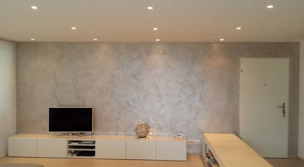 Pitture Per Interni Grigio : Pitture per interni grigio argento effetti pitture per interni